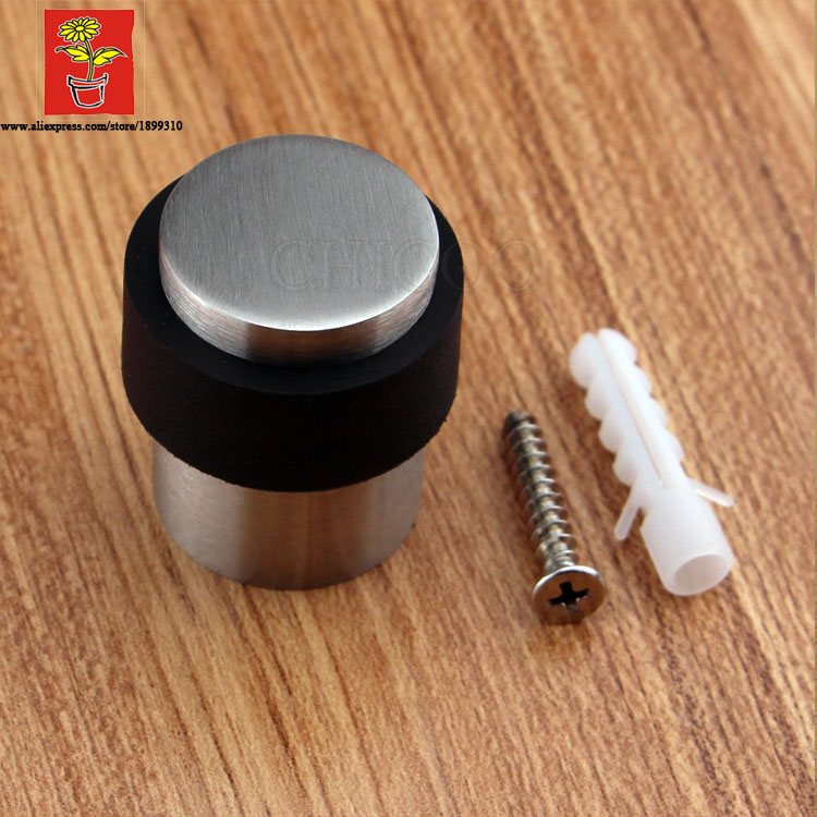 Stainless Steel Solid Cylinder Door Stop
